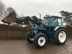 Traktor Ford 67I0/ Quicke 434O
