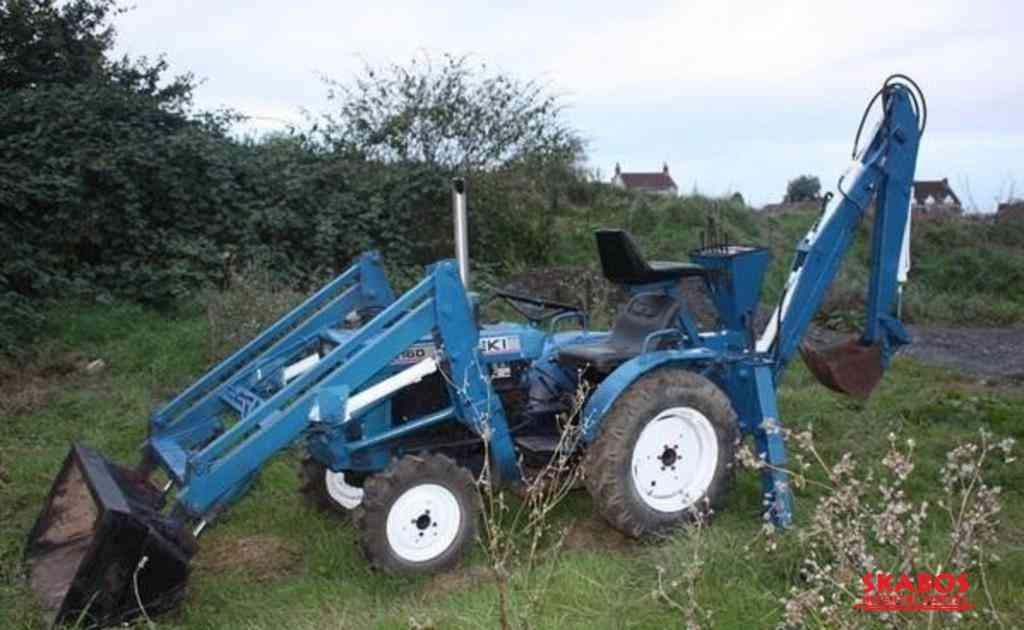 Traktor Iseki 2116O 4X4 (1/3)