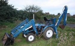 Traktor Iseki 2116O 4X4