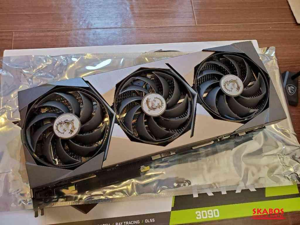 ASUS ROG Strix GeForce RTX 3090 OC 24 GB GDDR6X (1/3)