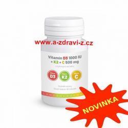 Vitamín D3+K2+C a produkty pro zdraví a imunitu