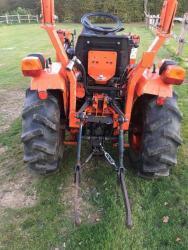 Traktor Kubota B50 HST 17 + čelní nakladač (1618221299/3)