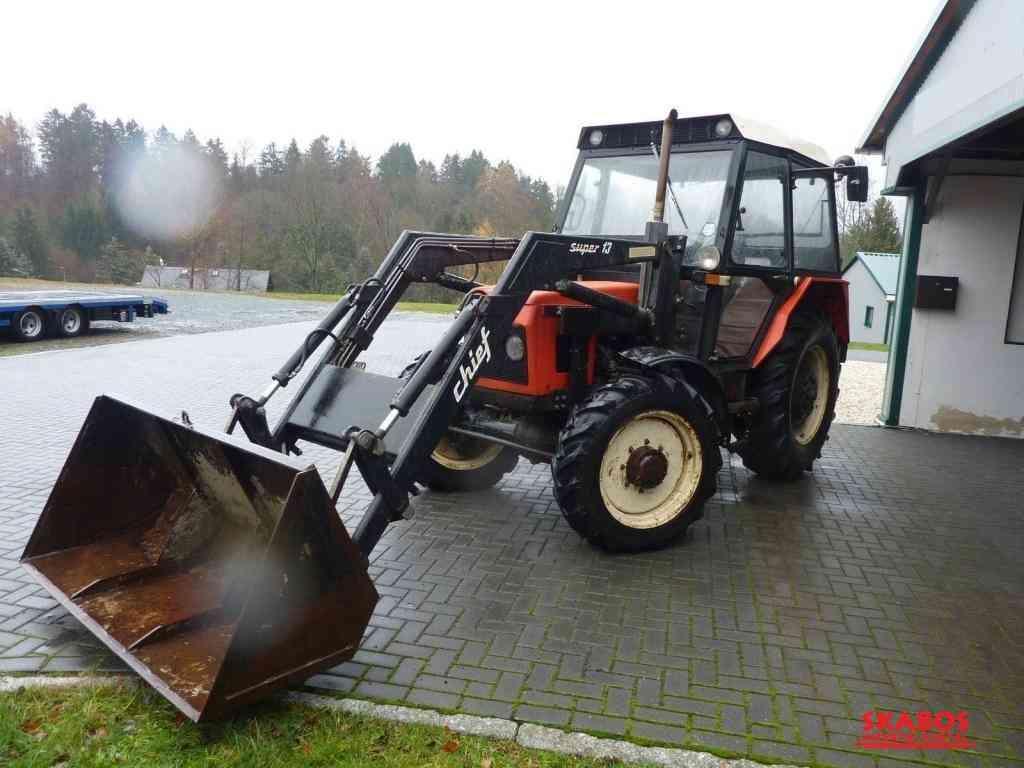 Traktor Zetor 52/45/ Szuper I3 - Plně funkční (1/4)