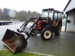 Traktor Zetor 52/45/ Szuper I3 - Plně funkční
