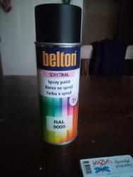 Černé barvi (BOLTON) RAL9005 MATNÁ (1619508004/2)