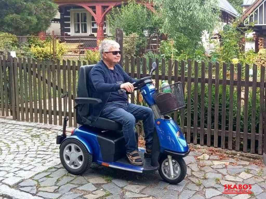 Elektrické vozíky-skútry pro seniory a ZTP (1/4)