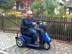 Elektrické vozíky-skútry pro seniory a ZTP