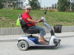 Elektrické vozíky-skútry pro seniory a ZTP (1620117614/4)
