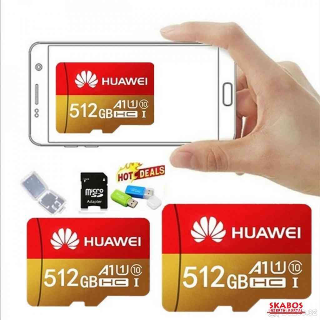 MICRO SDHC paměťová karta 512 GB (1/3)