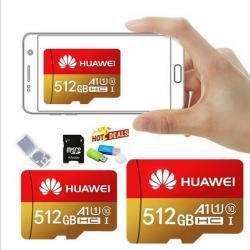 Pamětová karta MICRO SDHC 512 GB+SD+ USB adaptér