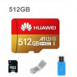 Pamětová karta MICRO SDHC 512 GB+SD+ USB adaptér (1621678864/5)