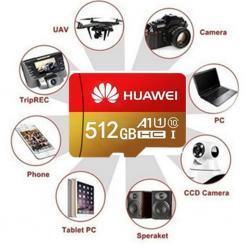 Pamětová karta MICRO SDHC 512 GB+SD+ USB adaptér (1621678866/5)