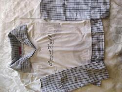 Dvě košile a halenka vel.38 (1621802254/3)