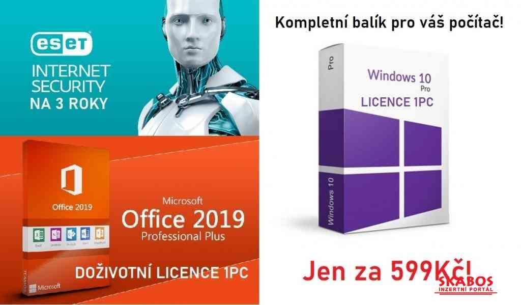 Windows 10 Pro + Office 2019 Pro Plus + ESET (1/1)