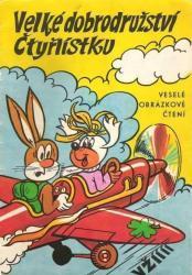 Komiksy Čtyřlístek, Rychlé Šípy, K.Saudek, Komety