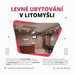 Litomyšl-ubytování