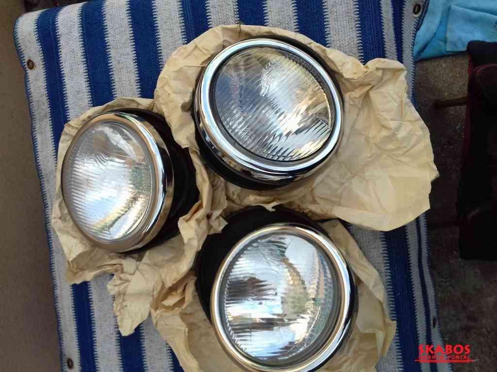 Reflektory na Tatra 87 nové kompletní 3 x , (1/1)