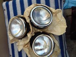 Tatra 87 sada nových reflektorů, kompletní 3 x