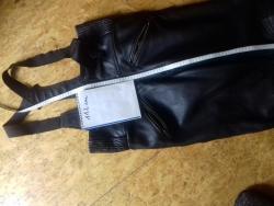 Bunda a kalhoty kůže, 5 x použité, Německo- Held