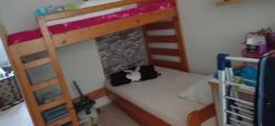 Patrová postel s masivu