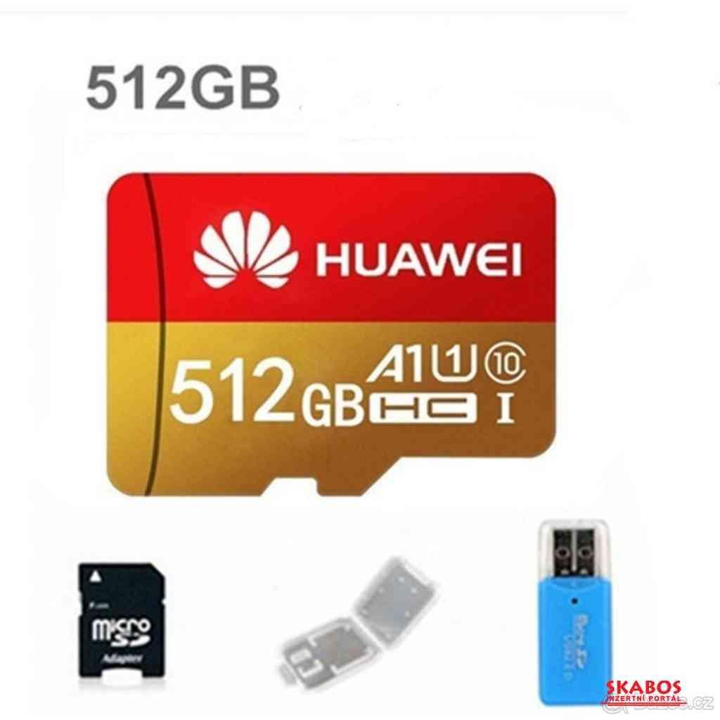 MICRO SDHC paměťová karta 512 GB (1/1)