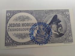 Prodám nevydanou bankovku 1 mobilizační koruna,UNC (1625936535/4)