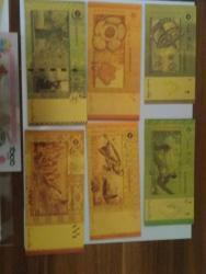 Gold bankovky sady UNC (1626254420/4)