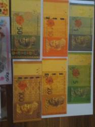 Gold bankovky sady UNC (1626254421/4)