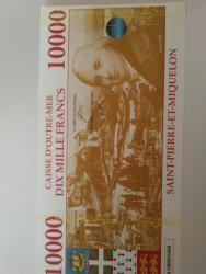 Bankovka TAAF UNC, Saint Miquelon 10 000 francs (1626538043/2)