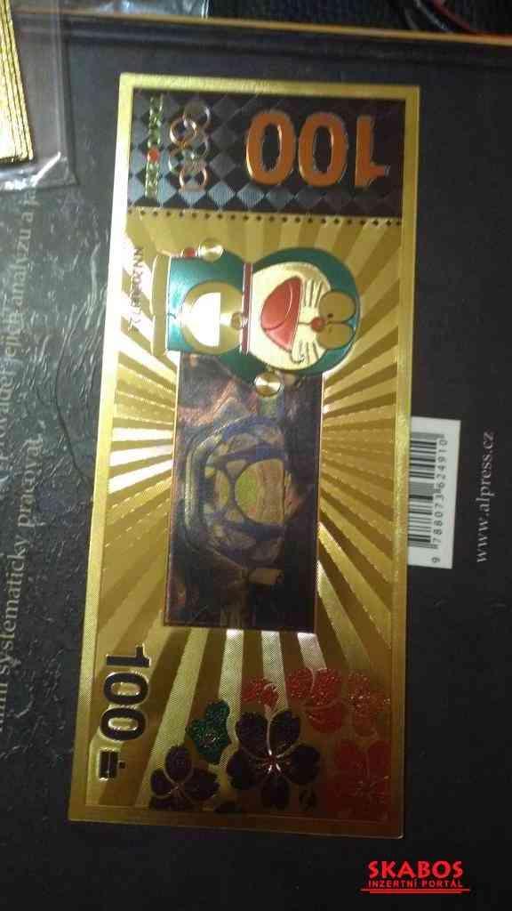 Prodám bankovku OH 2020 Tokio, UNC (1/2)