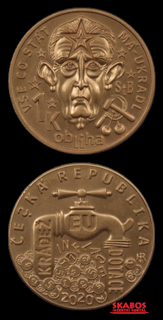 Medaile viz foto, náklad jen 777 kusů, UNC (1/3)