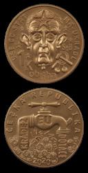 Medaile viz foto, náklad jen 777 kusů, UNC
