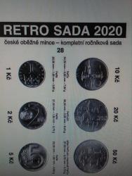 Sada oběžných mincí 2020 UNC