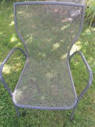 Zahradní židle a lavička