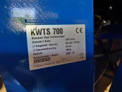 Kotoučovou kolébkovou pilu se stolem KWTS 700 (1627496853/5)