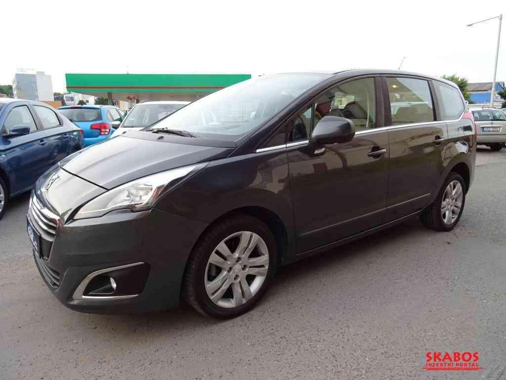Peugeot 5008 1.6HDi,88kW,klima,7míst,serv.kn (1/5)