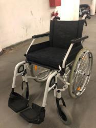 skládací invalidní vozík B+B s brzdama pro doprovo