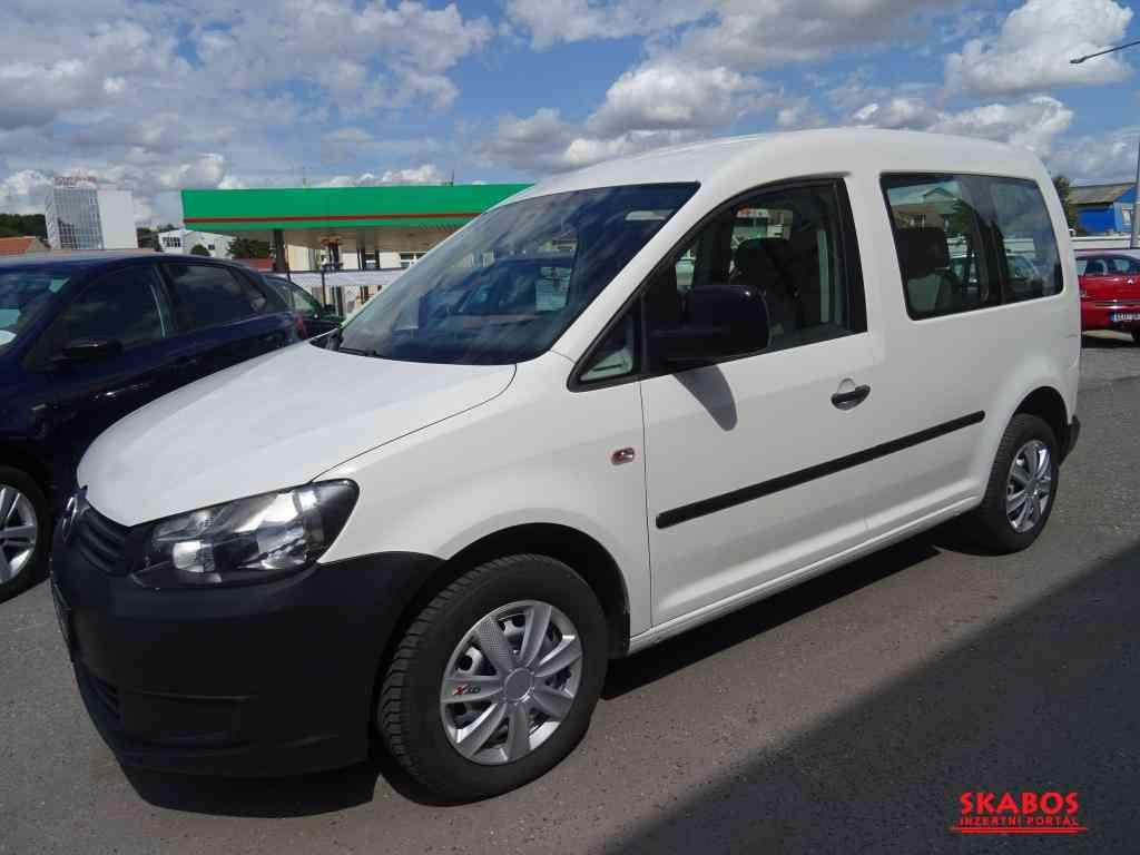 Volkswagen Caddy 1.6TDi,55kW,1maj,serv.kn,ESP (1/5)