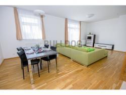 Pronájem luxusního bytu s výhledem na Prahu, 3+kk, 101 m2/G, P - Vinohrady (9.22337203685E+18/20)