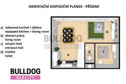 Pronájem luxusního bytu s výhledem na Prahu, 3+kk, 101 m2/G, P - Vinohrady (6140897632348/20)