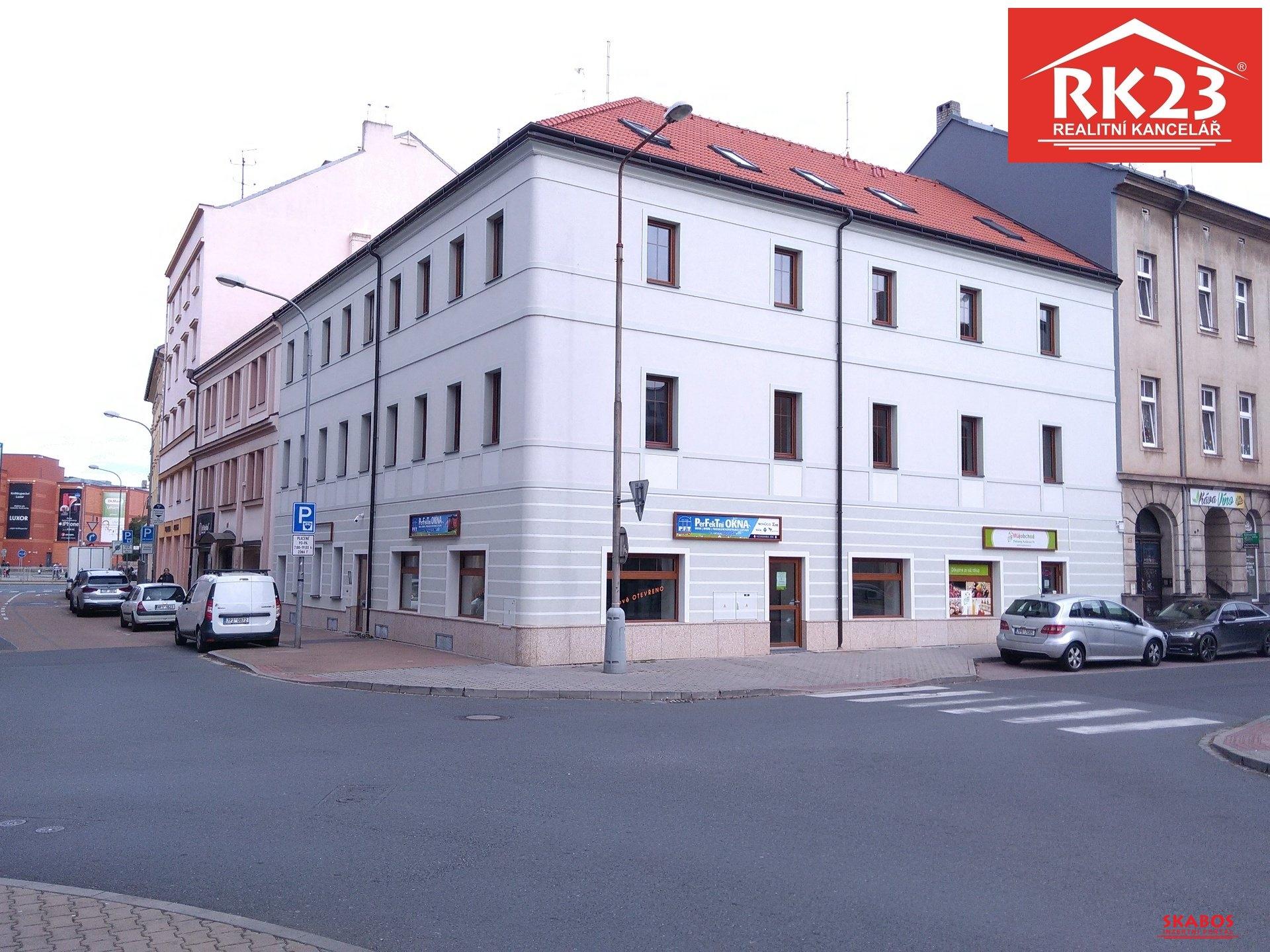 Pronájem bytu 1+1, 51,5m2, Plzeň, Kollárova ul. (1/9)