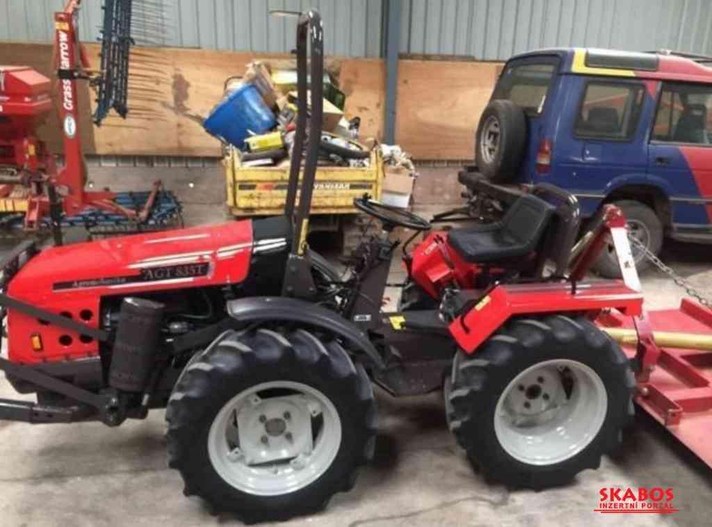 Malotraktor Agromehanika AGT-835T s sekačka (1/5)