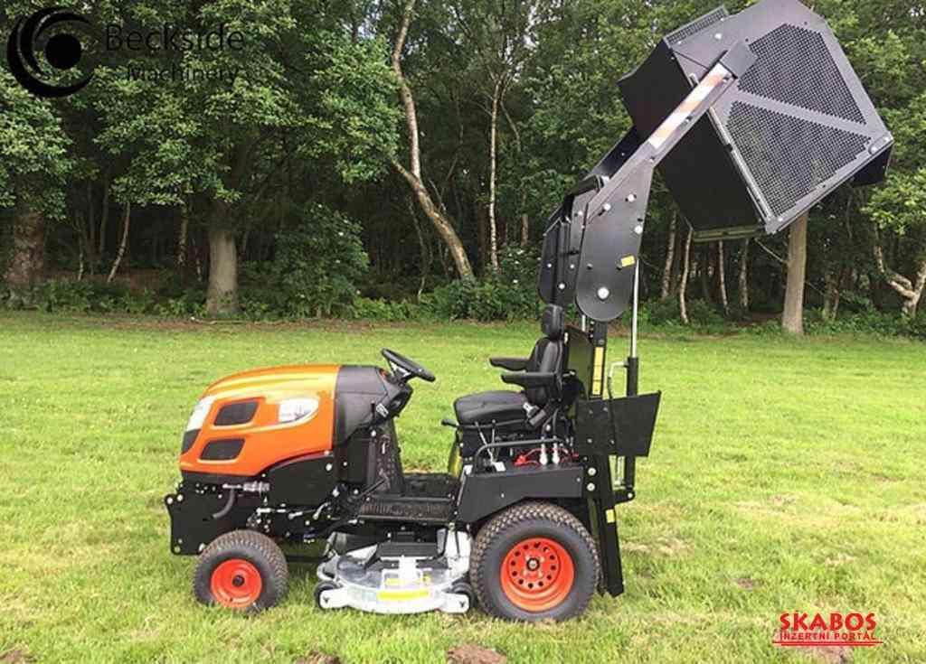 Profesionální vysoká sekačka Kioti Tractor WD1260 (1/5)