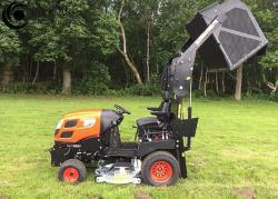 Profesionální vysoká sekačka Kioti Tractor WD1260