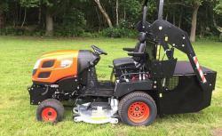 Profesionální vysoká sekačka Kioti Tractor WD1260 (1631788385/5)
