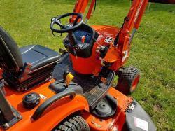 Kioti Tractor CS 2510 HST + Traktorová sekačka (1631788523/5)