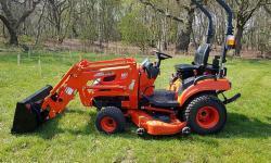 Kioti Tractor CS 2510 HST + Traktorová sekačka (1631788525/5)