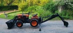 Traktor Kubota B6.IOOb + příslušenství (1632736306/4)