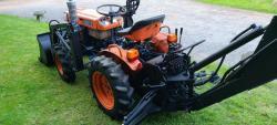 Traktor Kubota B6.IOOb + příslušenství (1632736307/4)