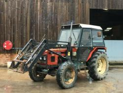 Traktor Zetor 7-245T Trima + Příslušenství (1632736361/4)